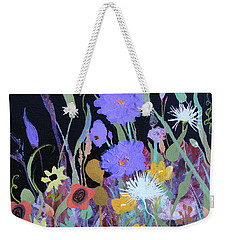 Weekender Tote Bag featuring the painting Life On A Summer's Day by Robin Maria Pedrero