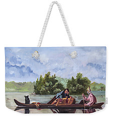 Life On The Missouri River Weekender Tote Bag
