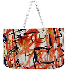 Life Should Be Filled With Spontaneity Weekender Tote Bag by Mary Carol Williams