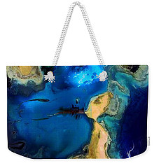 Weekender Tote Bag featuring the photograph Life Stream by Richard Ricci
