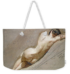 Life Study Of The Female Figure Weekender Tote Bag by William Edward Frost