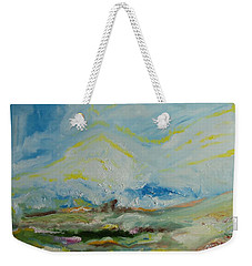 Life. Triptych  Part 3 Weekender Tote Bag