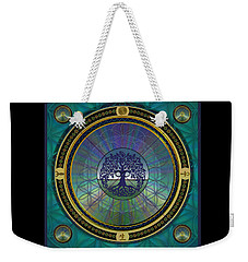 Weekender Tote Bag featuring the digital art Life by Vincent Autenrieb