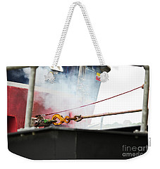 Lifeboat Chocks Away  Weekender Tote Bag