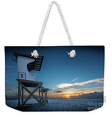 Weekender Tote Bag featuring the photograph Lifeguard by Brian Jones