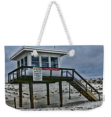 Weekender Tote Bag featuring the photograph Lifeguard Station 1 by Paul Ward
