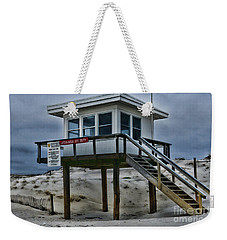 Lifeguard Station 2  Weekender Tote Bag by Paul Ward
