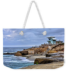 Lifeguard Station At Children's Pool Weekender Tote Bag