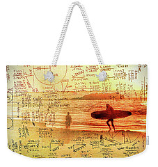Life's Crossing Weekender Tote Bag by Charles Ables