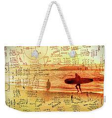 Life's Crossing Weekender Tote Bag