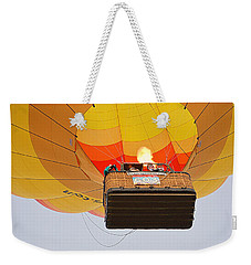 Weekender Tote Bag featuring the photograph Liftoff by AJ Schibig
