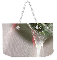 Weekender Tote Bag featuring the photograph Light by Alex Lapidus