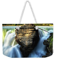 Weekender Tote Bag featuring the photograph Light And Movement by Rick Furmanek