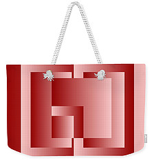 Light And Ojects 1 Weekender Tote Bag by Leo Symon