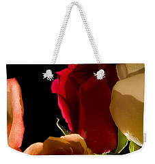 Light And Roses Weekender Tote Bag