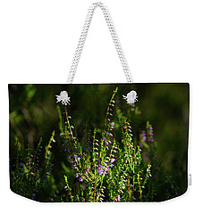 Light And Shadows On Common Heathers Weekender Tote Bag