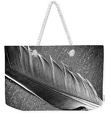 Weekender Tote Bag featuring the photograph Light As A Feather by Karen Stahlros