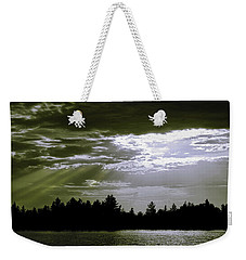 Light Blast In Evening Weekender Tote Bag