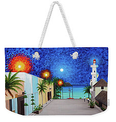Light House Playa Del Carmen Version II Weekender Tote Bag