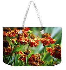 Light In The Garden Weekender Tote Bag by Cameron Wood