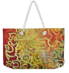 Light In The Letters Weekender Tote Bag
