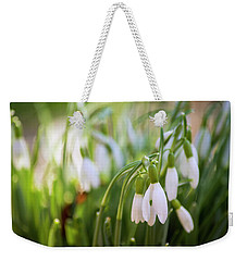 Light Is On Its Way Weekender Tote Bag by Rima Biswas