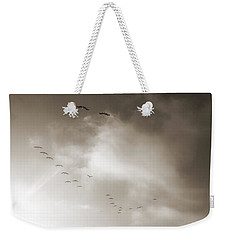 Light Just Ahead  Weekender Tote Bag