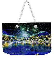 Light Meets Darkness Weekender Tote Bag