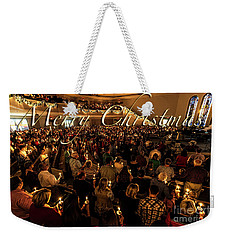 Light Of Christmas Weekender Tote Bag by Anthony Baatz