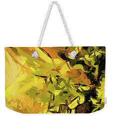 Light Of Gold Weekender Tote Bag