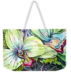 Light Of Orchids Weekender Tote Bag