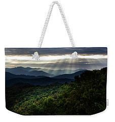 Light On The Mountains Weekender Tote Bag