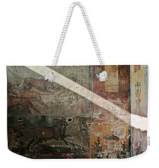 Light On The Past Weekender Tote Bag