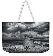 Light On The Rock Weekender Tote Bag