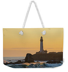 Light On The Waves Weekender Tote Bag