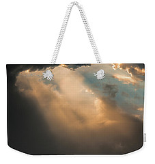 Light Punches Through Darkness Weekender Tote Bag