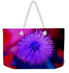 Light Purple Puff Explosion Weekender Tote Bag
