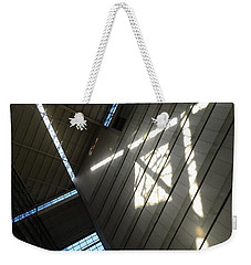 Light Rails Weekender Tote Bag
