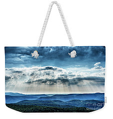 Weekender Tote Bag featuring the photograph Light Rains Down by Thomas R Fletcher