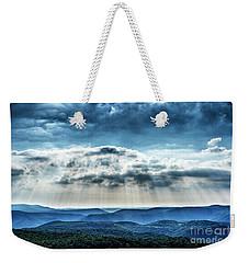 Light Rains Down Weekender Tote Bag