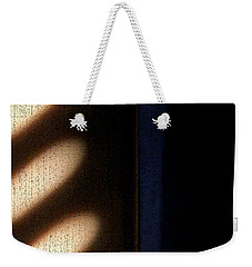 Weekender Tote Bag featuring the digital art Light Rays by Todd Blanchard