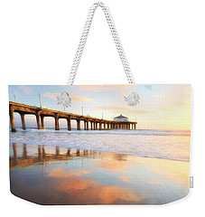 Light Reflections Weekender Tote Bag by Nicki Frates