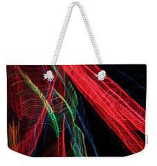 Light Ribbons Weekender Tote Bag