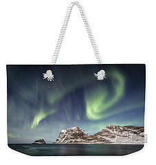 Light Show Weekender Tote Bag by Alex Conu