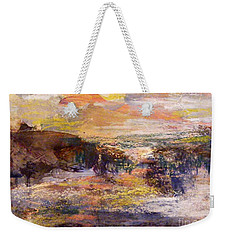 Light Show At Dawn Weekender Tote Bag by Nancy Kane Chapman