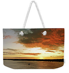 Light Show Weekender Tote Bag