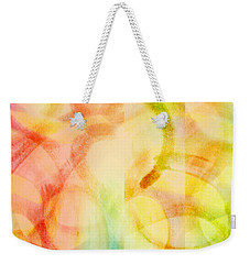 Weekender Tote Bag featuring the painting Light Soul by Lucia Sirna