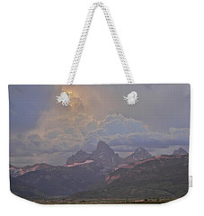 Light Storm Weekender Tote Bag by Eric Tressler