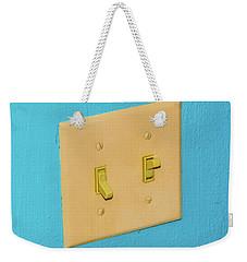 Light Switch Weekender Tote Bag