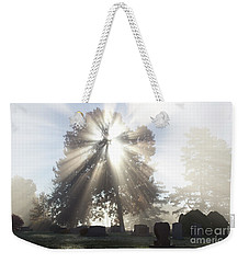 Weekender Tote Bag featuring the photograph Light by Tara Lynn